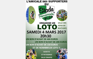 Loto Amicale des supporters